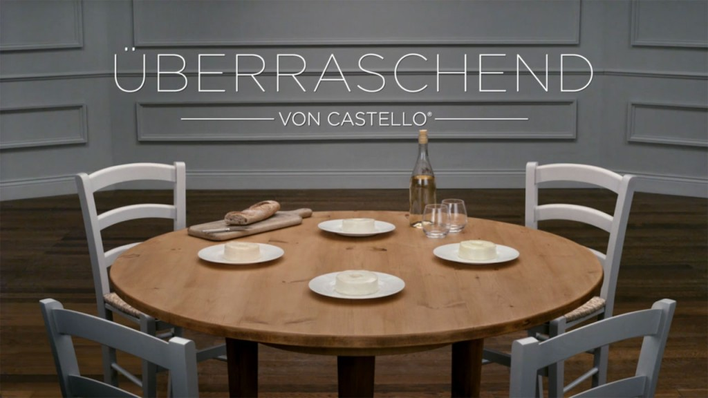 uberraschend table cheese advert